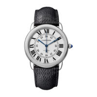 Ronde Solo de Cartier in Steel - 36mm - Men's Watch - WSRN0021