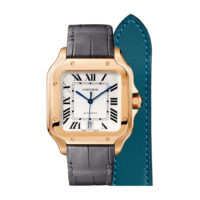 Santos de Cartier in Pink Gold - Large Model - Men's Watch - WGSA0011