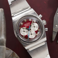 Zenith_El_Primero_Red_Dial_A781_AS02282_A Vintage Watches Chicago Marshall Pierce Analog Shift