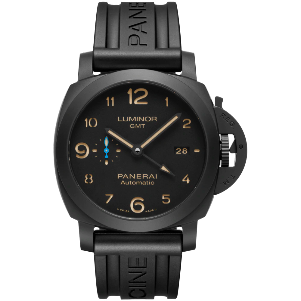 Panerai Luminor GMT Automatic – Men's Watch – PAM01441 Marshall Pierce & Company Chicago Rubber