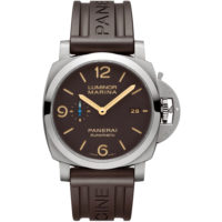 Panerai Luminor Marina - 44mm - Men's Watch - PAM01351 Marshall Pierce & Company Chicago Rubber
