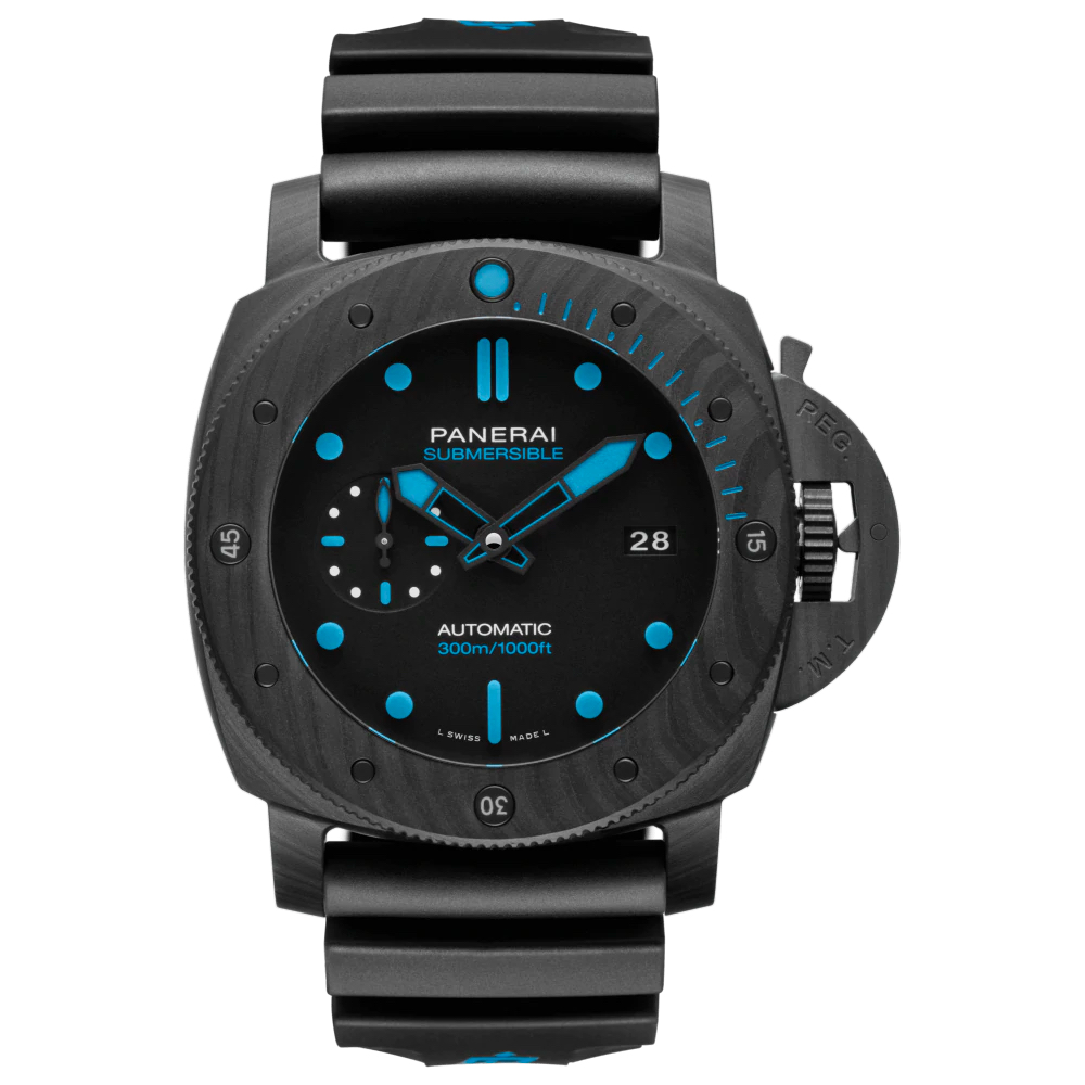 SUBMERSIBLE CARBOTECH™ - 47MM PAM01616 Panerai Watch Chicago Marshall Pierce & Company Rubber