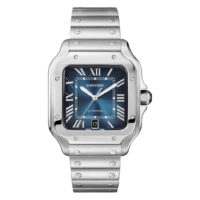 Santos de Cartier in Steel - Large Model - Men's Watch - WSSA0013