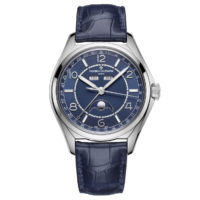 Vacheron Constantin Fifty Six 4000E:000A-B548 Blue Dial Calendar Watch Marshall Pierce & Company Chicago