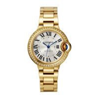 Ballon Bleu de Cartier in Yellow Gold with Diamonds - 33mm - Ladies Watch - WJBB0042 Marshall Pierce & Company Chicago