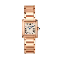 Cartier Tank Francaise in Pink Gold - Small Model - Ladies Watch - WGTA0029 Marshall Pierce & Company Chicago