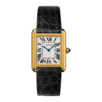 Cartier Tank Solo in Yellow Gold - Small Model - Ladies Watch - W5200002